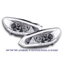 Coppia fari Daylight LED DRL GOLF 6 08-