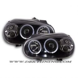 Gruppi ottici Angel Eyes Led Golf 4 98-03 neri