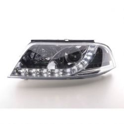Coppia fari Daylight LED PASSAT 00-05 cromo
