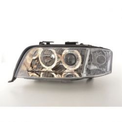 Coppia fari Angel Eyes Audi A6 4B 01-04 XENON