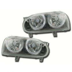 Gruppi ottici Angel Eyes VW Golf 3 91-98 neri