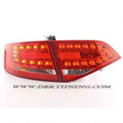 Fanali Led AUDI A4 B8 07-11 rosso