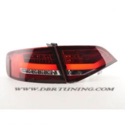 Taillights Tube Led AUDI A4 B8 look 2012 per 07-11 red