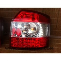 Fanali Led AUDI A4 Avant 01-02 rosso-chiaro