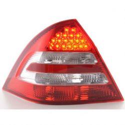 Fanali Led Mercedes C W203 berlina 00-07 rosso-chiaro