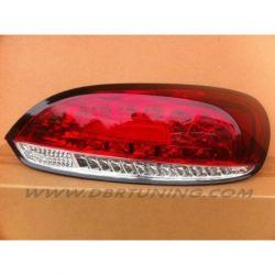 Fanali LED VW SCIROCCO 08- rosso ciliegia