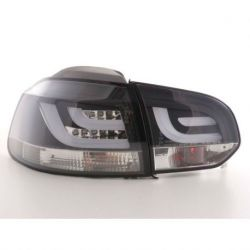 Fanali LED LIGHT BAR GOLF 6 08- neri