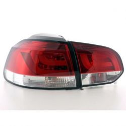 Fanali LED LIGHT BAR GOLF 6 08- rosso
