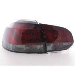 Fanali LED LIGHT BAR GOLF 6 08- rosso fumè