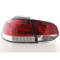 Fanali + freccia LED LIGHT BAR GOLF 6 08- rosso