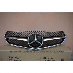 Grille Mercedes E 207 AMG 09-13 black chrome