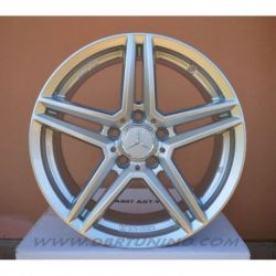 Alloy wheel RIAL M10 Polar Silver 17
