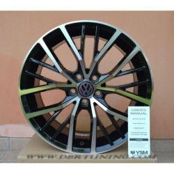 Cerchi in lega VW POLO GTI Black Polished 17