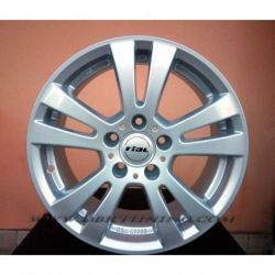 Alloy wheel RIAL DH Silver 16