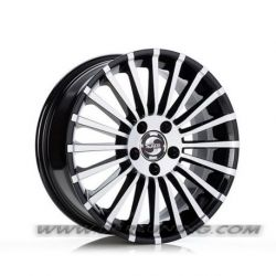 Cerchi in lega SP21-M Black  Polished 18