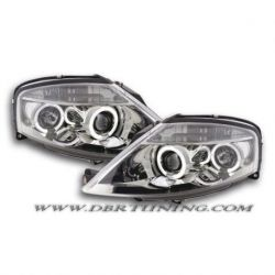 Gruppi ottici Angel Eyes Led Citroen C3 02-09