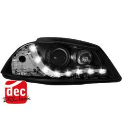 Coppia fari Daylight LED IBIZA 6L 02-08 black