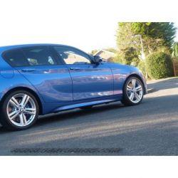 Minigonne laterali MSPORT BMW 1 F20 5P 11-