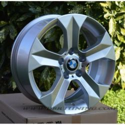Alloy wheel BREM BMW X1 X3 Silver 17