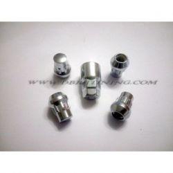 Bulloni antifurto BIMEC M12X1,5 L30 CH 17+19 CONICO