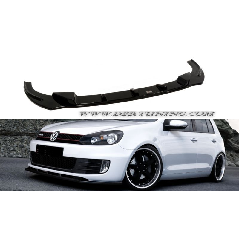 spoiler anteriore vw golf 6 gti gtd 08 12 dbrtuning. Black Bedroom Furniture Sets. Home Design Ideas