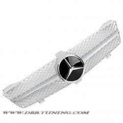 Calandra sport Mercedes CLS W219 04-08 silver cromo