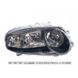 R headlight Alfa Romeo 147 01-04 black