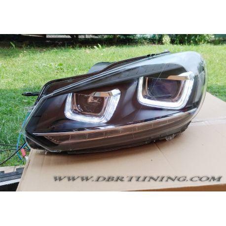 Headlights U Led Dynamic Arrow Led Vw Golf 6 08 12 Dbrtuning
