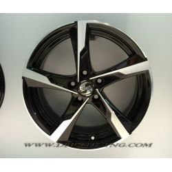 Alloy wheel SPATH SP41 Black Polish 17