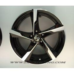 Alloy wheel SPATH SP41 Black Polish 17