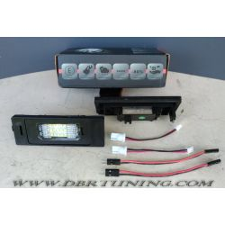 Led license plate lamps LED ALFA BMW FIAT MINI