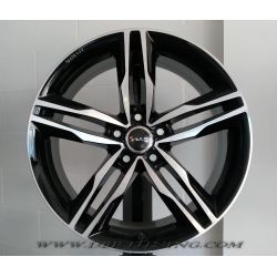 Alloy wheel Avus AF6 Black Polished 20