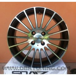 Alloy wheel AVUS AC-M03 Black Polish 18