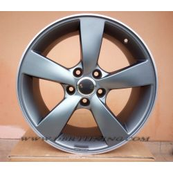 Alloy wheel Avus AF10 Matt Anthracite polish 18
