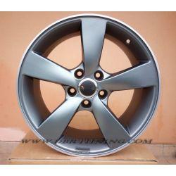 Alloy wheel Avus AF10 Matt Anthracite Pol 17