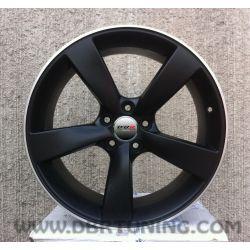 Alloy wheel Avus AF10 Matt Black Pol 17