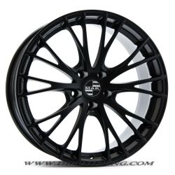 Alloy wheel MAK RENNEN Mat Black 19