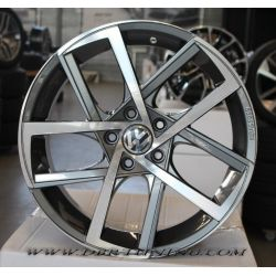 Alloy wheel SPATH SP45 Anthracite Polish 19