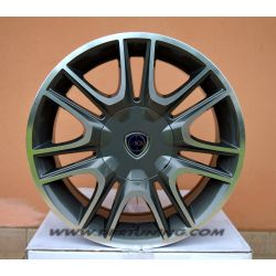 Cerchi in lega WSP FABRO ANTHRACITE POLISHED 15
