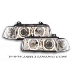Headlights Angel Eyes BMW 3 coupè (E36) 92-98
