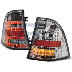Taillights Led MERCEDES ML W163 98-05 red-smoke