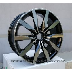 Cerchi in lega F892 VW GTI Nero Diamantato 17