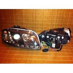 Headlight Daylight Led Audi A3 8P 03-08 neri