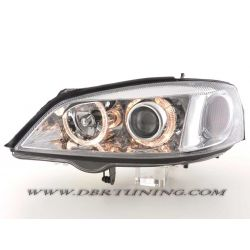 Headlights Angel Eyes Opel  Astra G 97 - 04