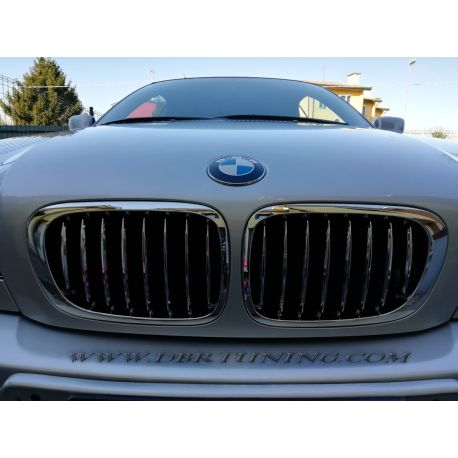 Sport Grill Bmw E46 Coupe Convertible 03 06 Chrome Dbrtuning