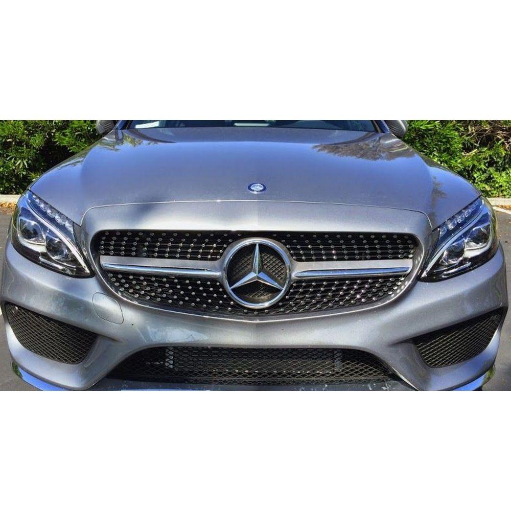 Sport Grill Mercedes AMG C43 W205 2014 + Silver