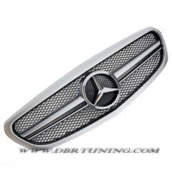 Sport grill Mercedes AMG C63 W205 2014 + silver