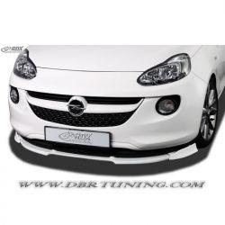 Spoiler front bumper Opel Adam 2013 +