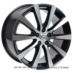 Alloy wheel MIM MONZA Black Polish 17