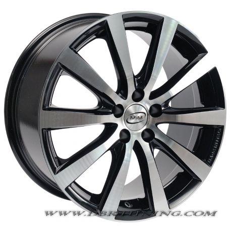 Alloy wheel MIM MONZA Black Polish 17